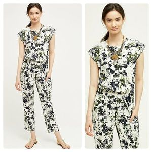 Anthro Ranna Gill Aida Embroidered Jumpsuit